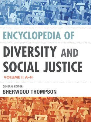 cover image of Encyclopedia of Diversity and Social Justice