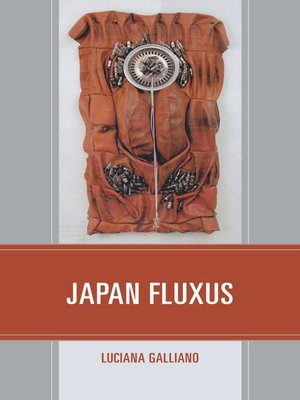 cover image of Japan Fluxus