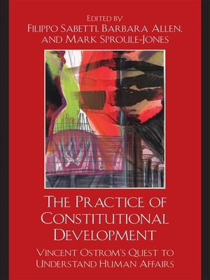 cover image of The Practice of Constitutional Development