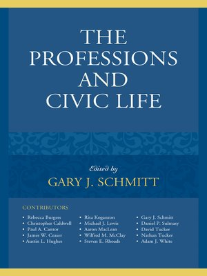 cover image of The Professions and Civic Life