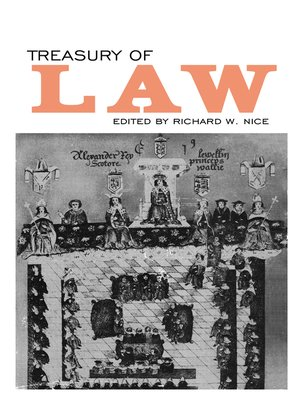 cover image of Treasury of Law