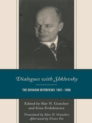 cover image of Dialogues with Shklovsky