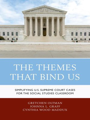 cover image of The Themes That Bind Us