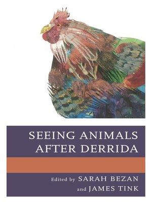 cover image of Seeing Animals after Derrida