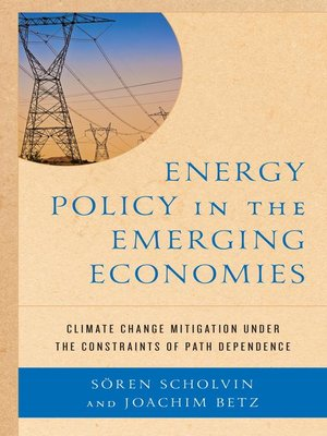 cover image of Energy Policy in the Emerging Economies