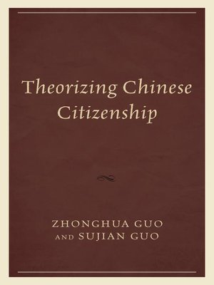 cover image of Theorizing Chinese Citizenship