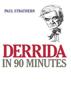 cover image of Derrida in 90 Minutes