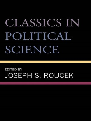 cover image of Classics in Political Science