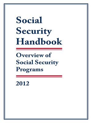 cover image of Social Security Handbook 2012