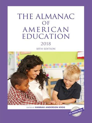 cover image of The Almanac of American Education 2018