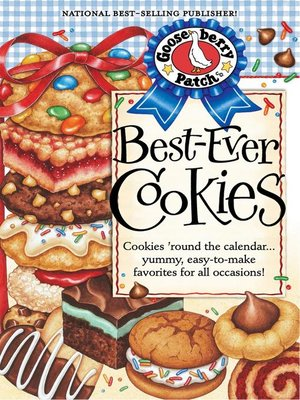 cover image of Best Ever Cookie Recipes Cookbook