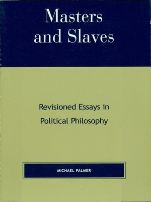 cover image of Masters and Slaves