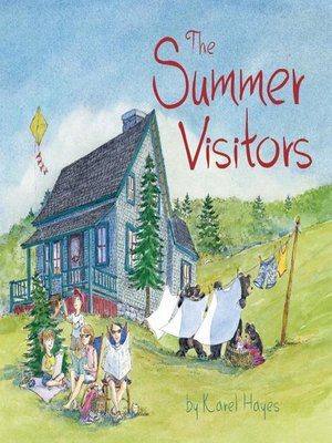 cover image of The Summer Visitors