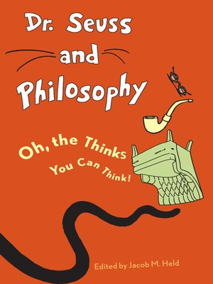 cover image of Dr. Seuss and Philosophy