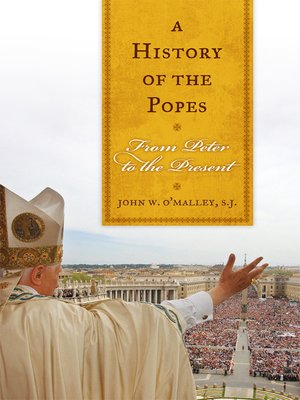 cover image of A History of the Popes