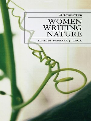 cover image of Women Writing Nature