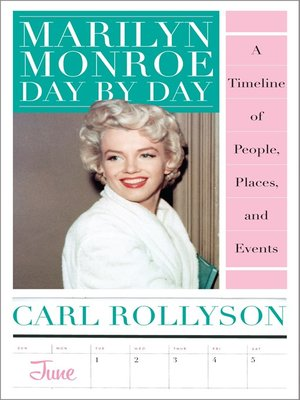 cover image of Marilyn Monroe Day by Day