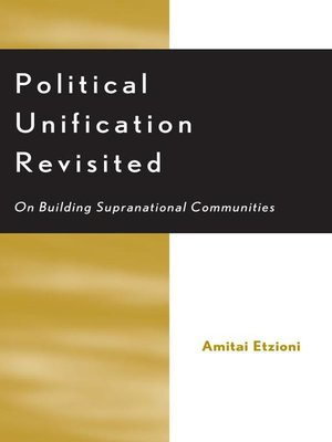 cover image of Political Unification Revisited