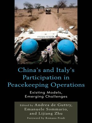 cover image of China's and Italy's Participation in Peacekeeping Operations