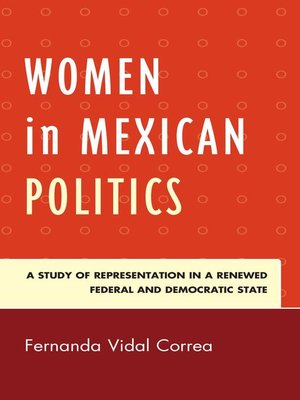cover image of Women in Mexican Politics