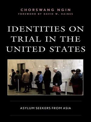 cover image of Identities on Trial in the United States