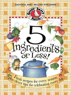 cover image of 5 Ingredients or Less Cookbook
