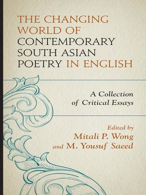 cover image of The Changing World of Contemporary South Asian Poetry in English