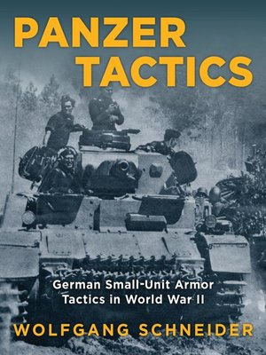 cover image of Panzer Tactics