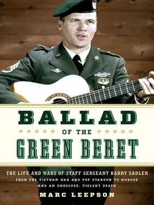cover image of Ballad of the Green Beret