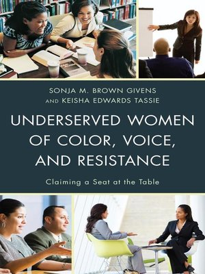 cover image of Underserved Women of Color, Voice, and Resistance