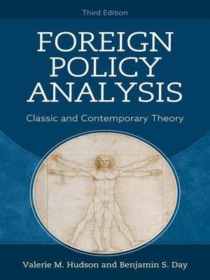 cover image of Foreign Policy Analysis