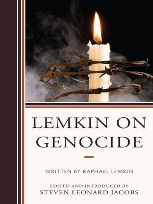 cover image of Lemkin on Genocide