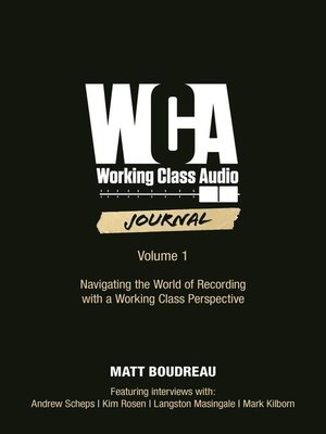 cover image of Working Class Audio Journal