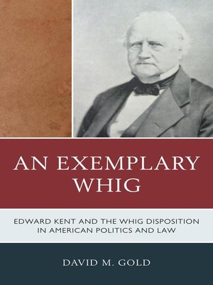 cover image of An Exemplary Whig