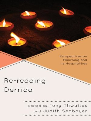 cover image of Re-reading Derrida