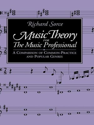 cover image of Music Theory for the Music Professional