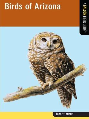 cover image of Birds of Arizona