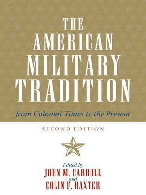 cover image of The American Military Tradition