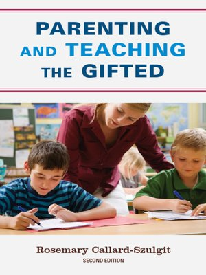 cover image of Parenting and Teaching the Gifted