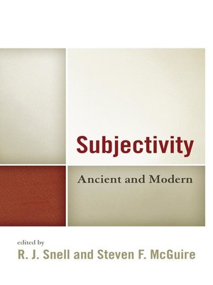 cover image of Subjectivity