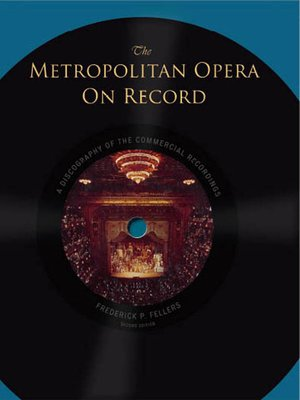 cover image of The Metropolitan Opera on Record