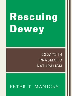 cover image of Rescuing Dewey