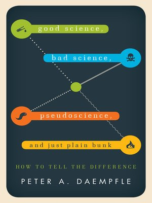 cover image of Good Science, Bad Science, Pseudoscience, and Just Plain Bunk