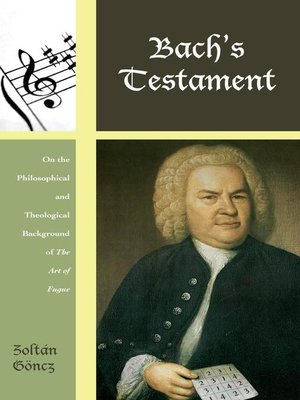 cover image of Bach's Testament