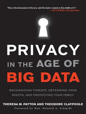 cover image of Privacy in the Age of Big Data