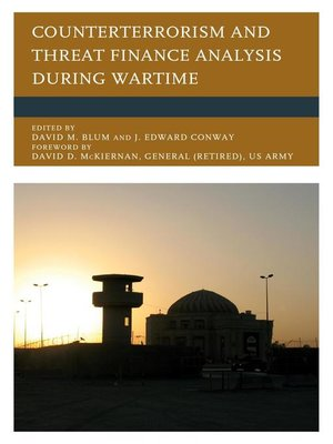 cover image of Counterterrorism and Threat Finance Analysis during Wartime