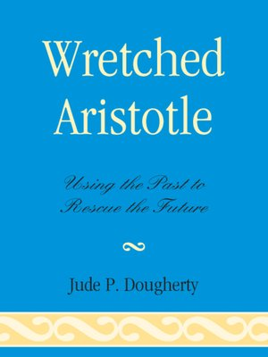 cover image of Wretched Aristotle