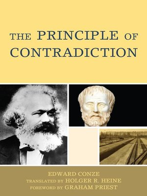 cover image of The Principle of Contradiction