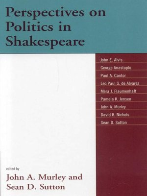 cover image of Perspectives on Politics in Shakespeare