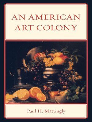 cover image of An American Art Colony